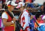 Jauniausia varžybų dalyvė A.Bogdanova pasaulio šaudymo į skrendančius taikinius čempionate – 19-a
