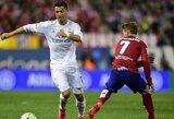 """""""Real"""" prieš """"Atletico"""": tai, ką reikia žinoti prieš Madrido derbį"""