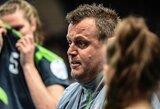 Nutraukta sutartis su Lietuvos moterų rankinio rinktinės treneriu iš Danijos