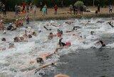 Stiprūs vėjai keičia Kuršių marių plaukimo maratono grafiką