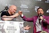 C.McGregoras ir UFC susitarė dėl naujo ilgalaikio kontrakto