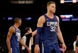 """B.Griffinas po mainų keliasi į """"Pistons"""""""