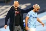 """J.Guardiola: """"S.Aguero turi įrodyti esantis vertas vietos """"Man City"""""""