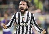 """A.Pirlo nori karjerą užbaigti """"Juventus"""" klube"""