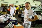 """Dakaro šturmanas S.Jurgelėnas: """"Pirmos penkios dienos bus labai """"galingos"""""""