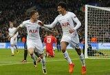 """""""Real"""" krachas tęsiasi: """"Tottenham"""" tėškė antausį ispanams ir pateko į kitą Čempionų lygos etapą"""