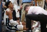 """Karjeros sezoną žaidžiantis gynėjas iškrito iš """"Nuggets"""" rikiuotės"""