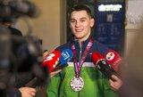 """Po aštuonerių metų tylos medaliu nudžiuginęs imtynininkas K.Šleiva: """"Dabar žinau, kad galiu kovoti su visais"""""""