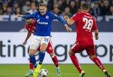 """""""Schalke"""" 89-ąją minutę išplėšė pergalę prieš """"Bundesliga"""" čempionato autsaiderius"""