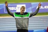 Šuolininkas į aukštį A.Glebauskas iškovojo Universiados bronzą!