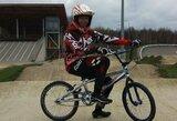 V.Baškytė dvi dienas iš eilės pateko į Europos BMX dviračių taurės finalus