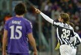 """""""Juventus"""" neturėjo daug vargo su """"Fiorentina"""""""
