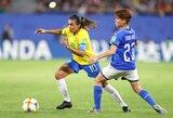 Geresnė ir už vyrus: brazilė Marta pagerino pasaulio čempionatų rezultatyvumo rekordą