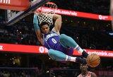 """""""Hornets"""" puolėjas siūlo M.Jordanui sužaisti vienas prieš vieną"""