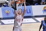 A.Gudaitis Eurolygos čempionus baudė baudų metimais, M.Kalnietis nieko ypatingo nenuveikė