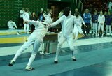 Europos jaunių fechtavimo čempionate du lietuviai pateko į atkrintamąsias varžybas