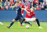 "Draugiškose rungtynėse Norvegijoje ""Manchester United"" iškovojo vėlyvą pergalę"