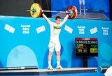 Šaulės G.Rankelytės ranka nedreba – pateko į stipriausių aštuntuką jaunimo olimpiadoje, sunkiaatletis Ž.Žilinskas pagerino asmeninį rekordą