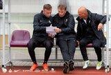 """FK """"Vilniaus"""" treneris P.Leusas apie kovą su """"Džiugu"""": """"Visos komandos turi silpnų vietų"""""""
