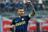 """""""Inter"""" sporto direktorius apie """"Real"""" susidomėjimą M.Icardi: """"Mauro ilgam nori likti """"Inter"""""""