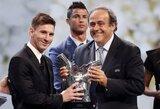 L.Messi – geriausias Europoje žaidžiantis futbolininkas