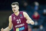 """""""Lietkabelis"""" dvigubą Europos taurės savaitę žais be dviejų naudingiausių krepšininkų"""