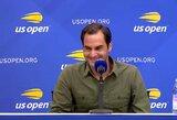 """R.Federeris apie """"US Open"""" burtų išdaigą: """"Negalėjau tuo patikėti"""""""