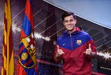 "P.Coutinho: ""Barcelona"" klube mane sups dievaičiai: L.Messi, L.Suarezas ir A.Iniesta"""
