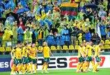 Lietuvos ir Maltos dvikova – sausakimšame LFF stadione