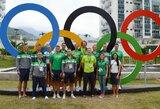 Lietuvos irkluotojai jau olimpiniame kaimelyje