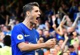 """Savo pelnytų įvarčių nesureikšminęs A.Morata: """"Svarbiausia - padėti komandai laimėti"""""""