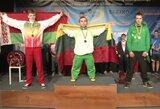 E.Valčiuko šou: keturi pasaulio rekordai ir trys aukso medaliai Europos jaunių čempionate