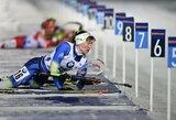 Lietuvės prastai pasirodė pasaulio biatlono taurės sprinte, nugalėjo D.Domračeva