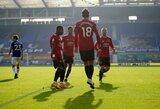 """Pirmąjį rungtynių įvartį praleidęs """"Man Utd"""" nugalėjo """"Everton"""" futbolininkus"""