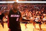 L.Jameso dėjimas – gražiausias NBA dienos epizodas