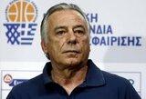 """Graikijos rinktinės treneris: """"Mes rengsime greitas ir labai trumpas atakas"""""""