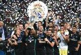 """""""Real"""" klubas pranoko """"Manchester United"""" ir iškovojo UEFA supertaurę"""