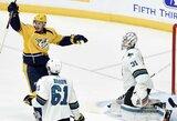 """NHL lygoje """"Rykliai"""" toliau skęsta"""