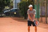 Čempionų lygos laimėtojas E.Jankauskas pergales skina ir teniso mėgėjų aikštelėse