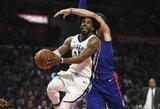"""Subalansuotai žaidusi """"Grizzlies"""" patiesė """"Clippers"""" klubą"""