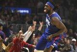 """""""Clippers"""" pratęsė sutartį su karjeros sezoną sužaidusiu aukštaūgiu"""
