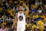 """S.Curry: """"Būtų keista, jeigu pirmu """"Visų žvaigždžių"""" šaukimu nesirinkčiau """"Warriors"""" žaidėjo"""""""