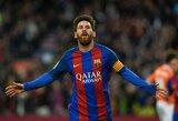 """Oficialu: """"Auksinį batelį"""" iškovojo L.Messi"""