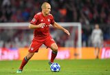 Olandų legenda A.Robbenas gali atnaujinti savo karjerą Brazilijoje