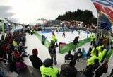 Vasaros viduryje ant sniego – Lietuvos tinklininkės startavo pasaulio ture Argentinoje