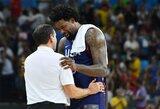 """M.Krzyzewskis: """"Jei ne Jordanas, nekovotume dėl aukso medalių"""""""
