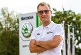 Pasaulio ralio kroso čempionate prie lietuvių komandos automobilio vairo sės latvis R.Nitišs