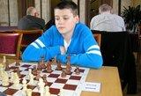 """Pasaulio jaunių šachmatų čempionato """"žaibo"""" turnyre T.Stremavičius – 9-as"""