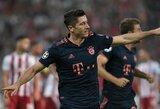 """Čempionų lyga: R.Lewandowskis nukalė dar vieną """"Bayern"""" pergalę, """"Tottenham"""" išsiliejo ant """"Crvenos Zvezdos"""""""