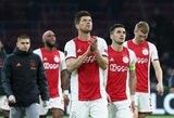 """Nyderlandų futbolo lyga baigė sezoną anksčiau laiko, """"Ajax"""" nepaskelbti čempionais"""